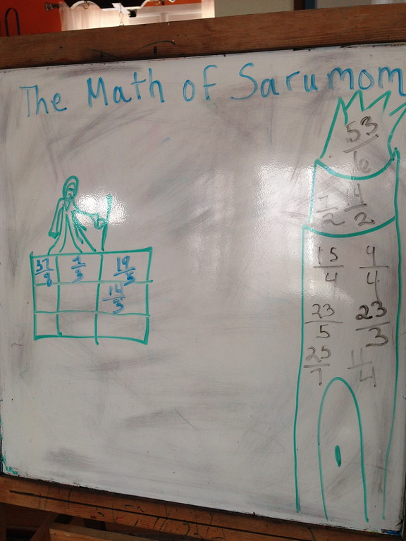 The Math of Sarumom