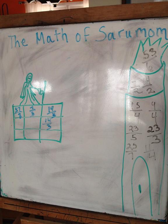 The Math of Sarumom